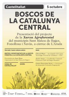 Xerrada i taula rodona: Reptes i oportunitats de la gestió forestal a la Catalunya Central - divendres 5 d'octubre