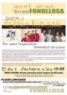 Cartell espectacle Imparables