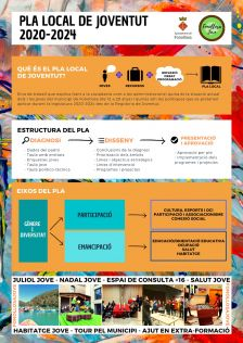 Infografia Pla local de Joventud